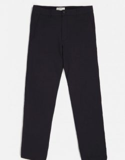UNIVERSAL WORKS – Aston Pant In Navy Seersucker