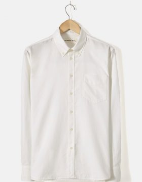 UNIVERSAL WORKS – Everyday Shirt In Ecru Oxford Cotton