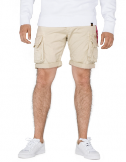 ALPHA INDUSTRIES – CREW SHORTS (Pantaloncino Caramello)