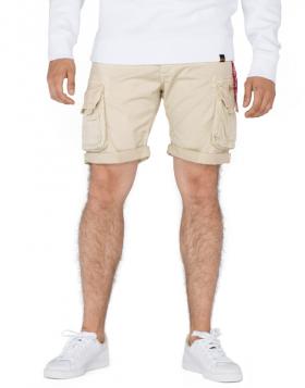 ALPHA INDUSTRIES – CREW SHORTS (Pantaloncino Caramello)