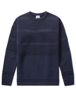 S.N.S. Herning – FISHERMAN Crew neck original blue