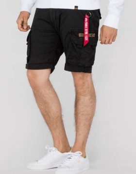 ALPHA INDUSTRIES – CREW SHORTS (Pantaloncino Nero)