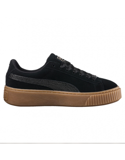 PUMA Suede Platform Bubble Wn's (Black) – 36643901