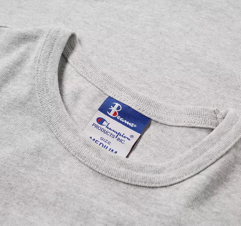 89ddb33ec0fe CHAMPION X BEAMS - Pocket Detail Tee (Grey) S8IFA3IT39