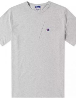 CHAMPION X BEAMS – Pocket Detail Tee (Grey) S8IFA3IT39
