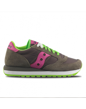 SAUCONY ORIGINAL – JAZZ Woman (Dark Grey / Rose Violet)