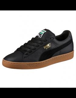 PUMA Basket Classic Gum Deluxe (Black) – 36536602
