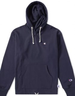 CHAMPION X BEAMS – North South East West Hoodie (Navy) S8IFA3IT39