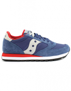 SAUCONY JAZZ ORIGINAL  BLU/RED
