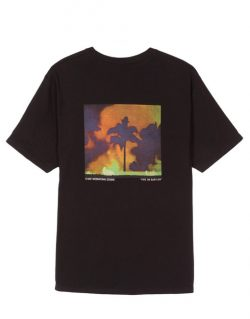 STUSSY – Fire on Babylon (T – shirt Nera)