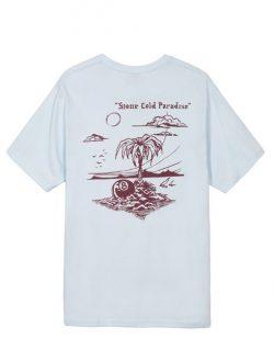 STUSSY Paradise (T- shirt Azzurra)