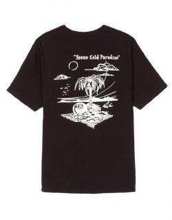 STUSSY Paradise  (T-shirt Nera)