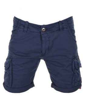 ALPHA INDUSTRIES – CREW SHORTS (Pantaloncino Blu)