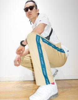 STUSSY –  Poly track pant (T – shirt KHAKI) 116334