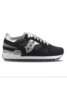 SAUCONY ORIGINAL – SHADOW woman (Black/Silver)