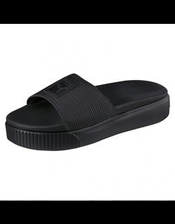 PUMA Platform Slide Wns EP (Black) – 36612202