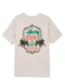 STUSSY – Lion Shield (T – shirt Stone)