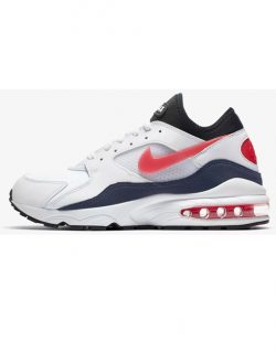 NIKE – AIR MAX  93 (White/Habanero Red)