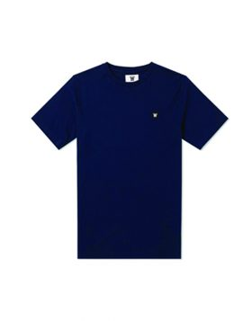 WOOD WOOD – DOUBLE A  Ace (T-shirt Blu Navy)