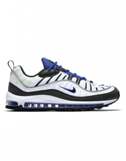 NIKE – AIR MAX 98 (White/Black-Racer Blue-Volt)
