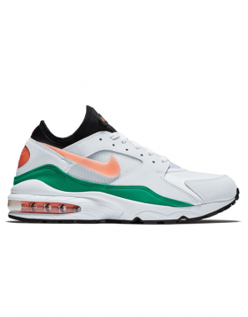 NIKE – AIR MAX '93 (White/Crimson Bliss-Kinetic Green-Black)