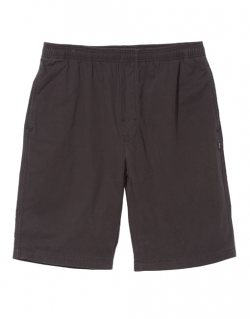 STUSSY – BRUSHED BEACH (Pantaloncino Nero)