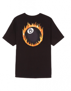 STUSSY – FIREBALL (T- shirt Black)