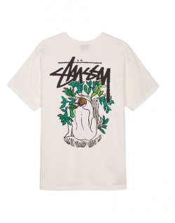 STUSSY – FORCES OF NATURE PIG DYED (T-shirt Natural)