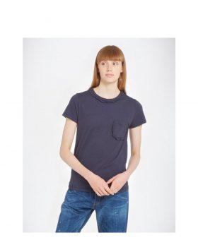 YOU MUST CREATE – Ruffle Trim (T-shirt Blu)