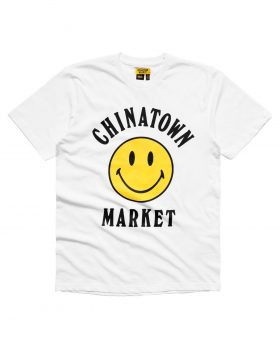 CHINATOWN MARKET – Smileylogo (T-shirt White)
