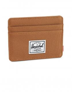 Charlie Card Holder Wallet Caramel