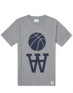 WOOD WOOD – Team AA (T-shirt Grigio Melange)