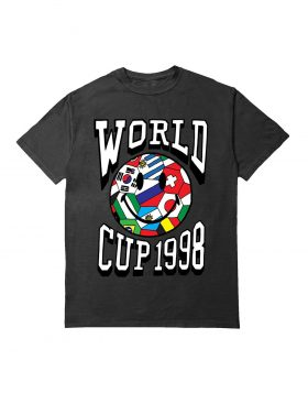 CHINATOWN MARKET – World Cup 1998 (T-shirt Black)