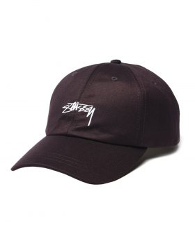 STUSSY SUITING LOW PRO CAP WINE