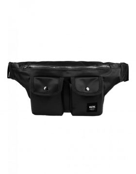 WOOD WOOD – Gray Bumbag (Black)