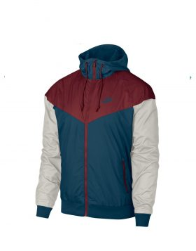 NIKE – Sportswear Windrunner Jacket (Blue force/Team Red)