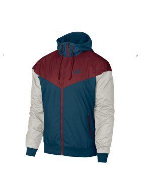 NIKE – Sportswear Windrunner Jacket (Blue force/Team Red)