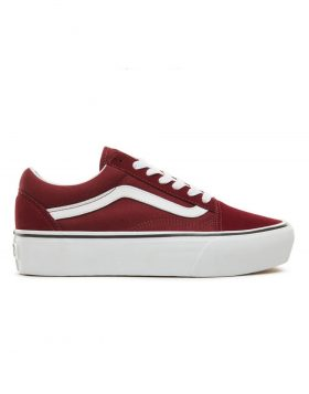 VANS – Old Skool Platform (Port Royale/True white)
