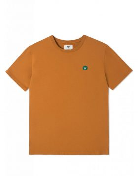 WOOD WOOD – Ace T-shirt (Dark orange)
