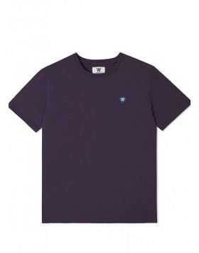 WOOD WOOD – Ace T-shirt (Dark purple)
