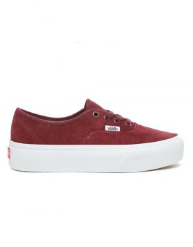 VANS – Authentic Platform (Pig Suede) – Port Royale/True White