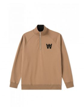 WOOD WOOD – Curtis Sweatshirt (Khaki)
