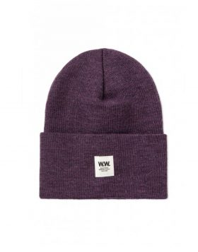 WOOD WOOD – Gerald Tall Beanie (Purple)