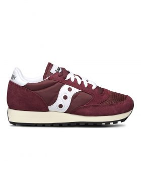 SAUCONY – Jazz Originals Vintage W (Burgundy/White)