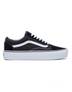VANS – Old Skool Platform (Black/White)