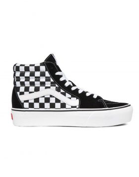 VANS – SK8-Hi Platform 2 (Checkerboard/True White)
