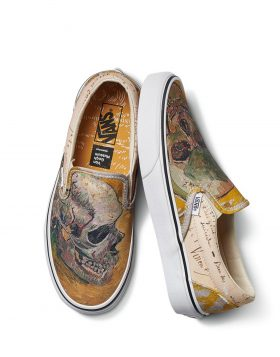 VANS – Classic Slip – On (Vincent Van Gogh) Skull