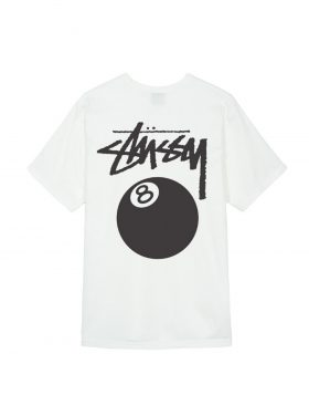 STUSSY – 8 Ball Tee (Natural)