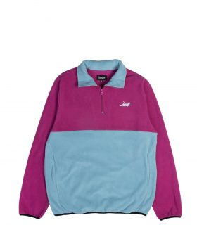 RIPNDIP – Castanza 3/4 Zip Up (Fuschia/Aqua)
