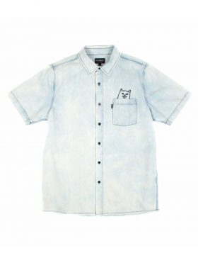 RIPNDIP – Lord Nermal Button Up (Denim)
